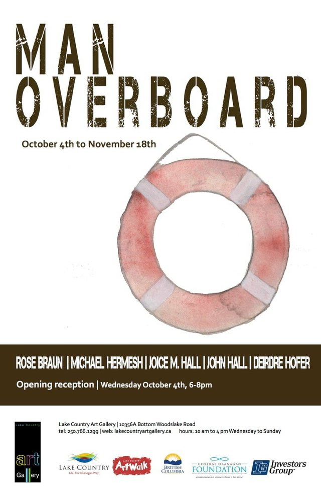 """Man Overboard Poster,"" 2017"