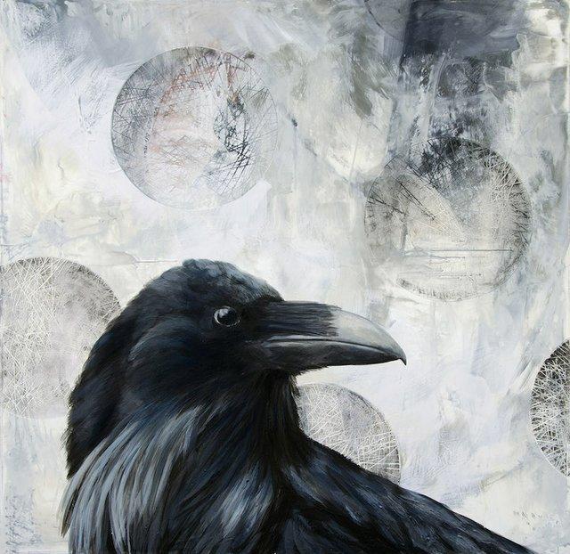 """Pascale Ouellet, """"A Raven Story,"""" 2017"""