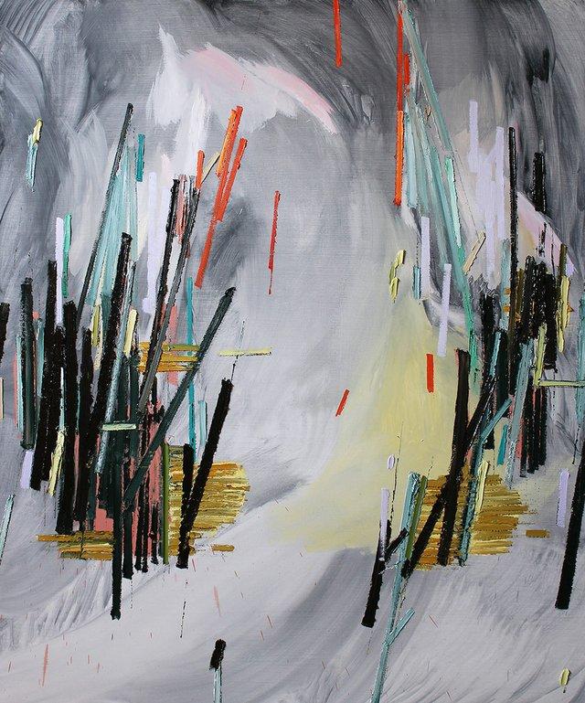"""Scott Everingham, """"Golden Ash,"""" 2017"""