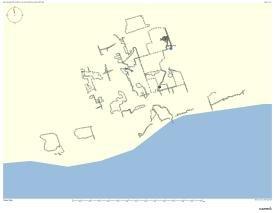 """GPS Drawings, Erratic Space – Bowmanville"""