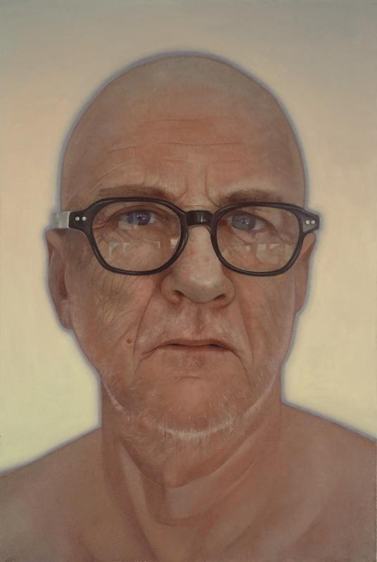 Daniel Hughes portrait of Shayne Dark