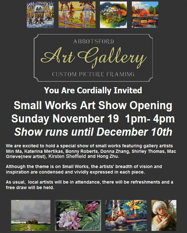 Abbotsford Art Show 2017 Poster