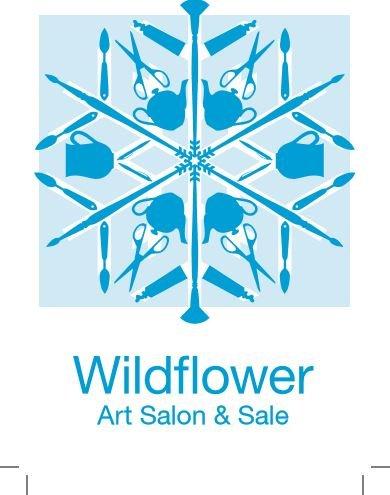 Wildflower Art Salon and Sale Invitation 20177