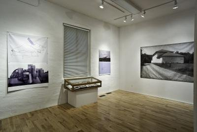 """Lower Gallery Installation view"""