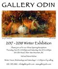 """Gallery Odin, """"2017-2018 Winter Exhibition,"""" Invitation"""
