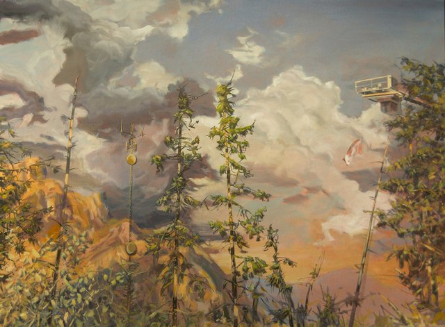 "Jim Davies ""Lodgepole pine confrontation,"" nd"