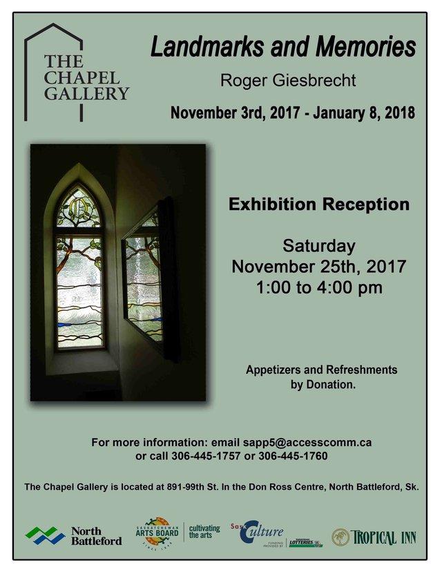 """Roger Giesbrecht, """"Landscapes and Memories,"""""""