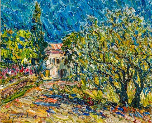 "Raynald Leclerc, ""Lumiere de Provence,"" 2017"