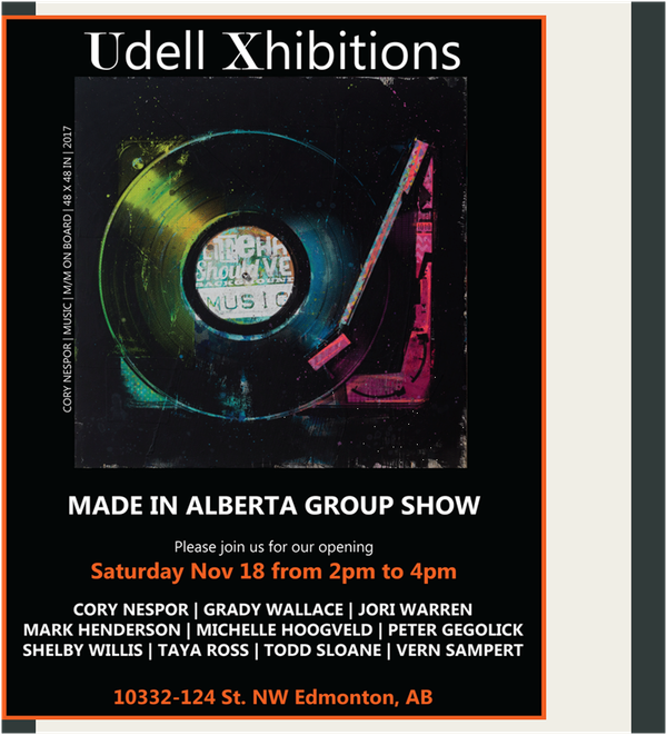 """Made in Alberta Group Show,"" 2017"