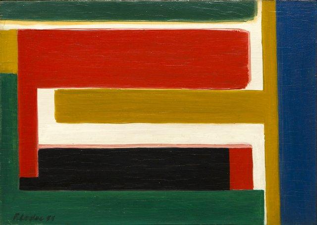 "Fernand Leduc, ""Gaze Etimine,""  1955"