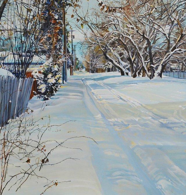 """Kelly Goerzen, """"In the Lane,"""" 2017"""