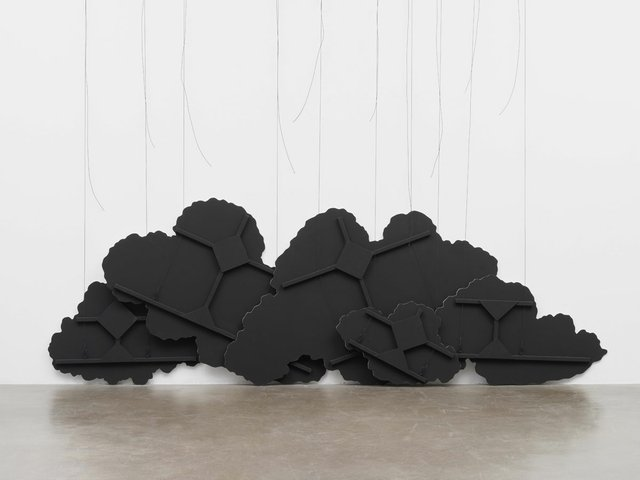 "Latifa Echakhch, ""Untitled (Black Cloud) IV,"" 2015"