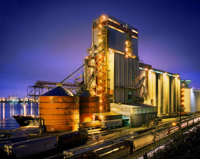 "Greg Girard, ""Untitled (Grain Terminal),"" 2013"