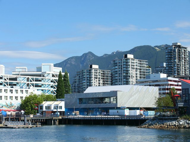 The Polygon Gallery on North Vancouver's waterfront (photo ©Ema Peter Photography).