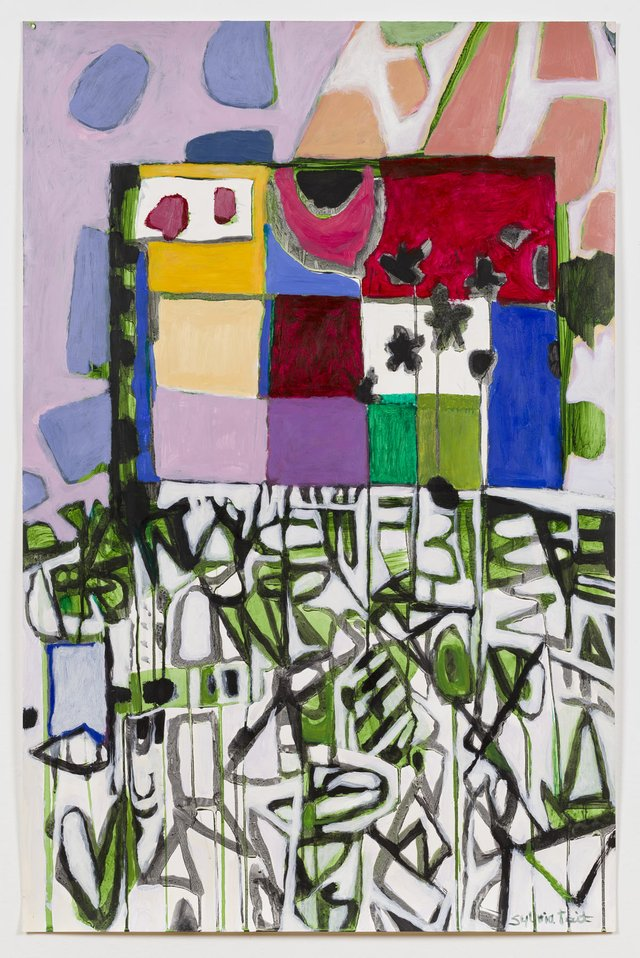 "Sylvia Tait, ""Dialogue II (Blocks and Breakups),"" 2017"