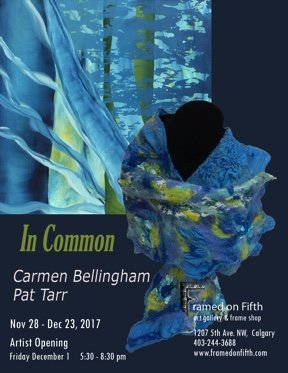 "Carmen Bellingham & Pat Tarr, ""In Common,"" 2017"