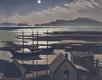 "Doris McCarthy, ""Moonlight on Percé Rock,"" 1945"