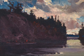 "J.E.H. MacDonald, ""Georgian Bay,"" circa 1914-1915"