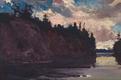 "J.E.H. MacDonald, ""Georgian Bay,"" circa 1914-1915"