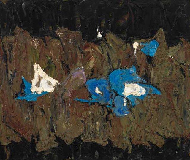 """Rita Letendre, """"The Subterranean,"""" 1961"""