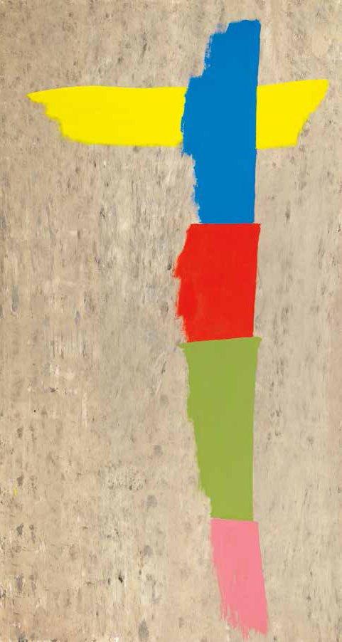"Jack Hamilton Bush, ""Winged Totem,"" 1973"