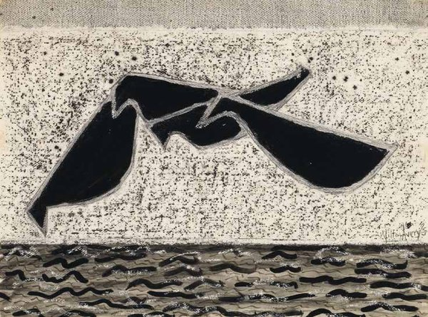"Milton Avery, ""Beach Birds,"" 1953"
