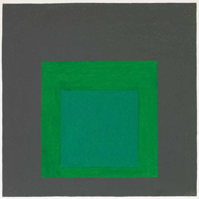 "Josef Albers, ""Study for Homage to the Square: New Garland,"" 1963"