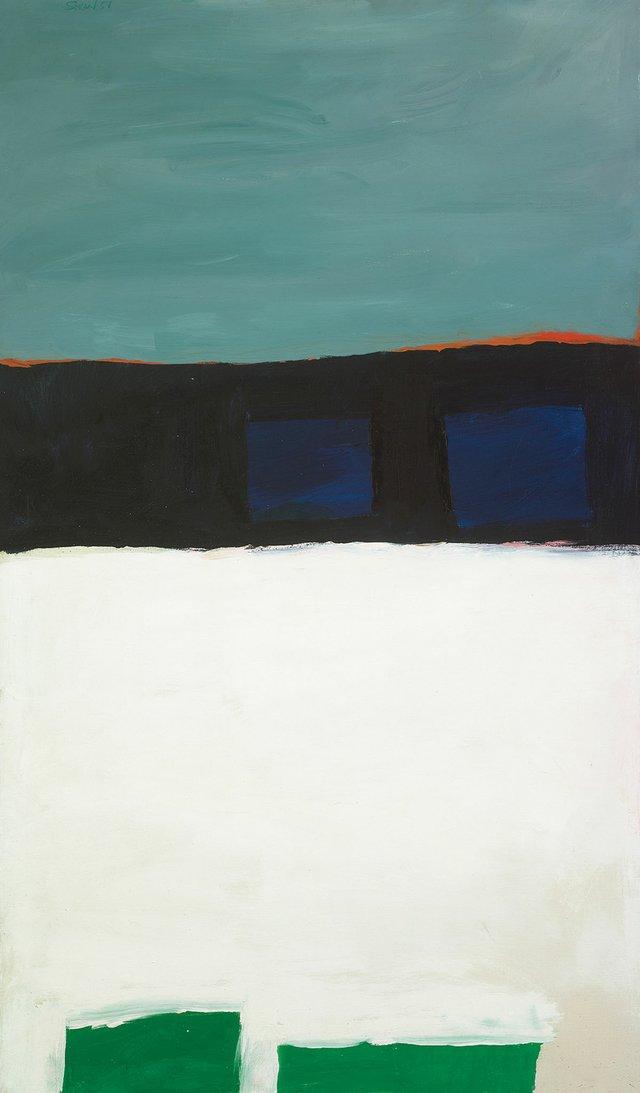 "Michael Snow, ""Off Minor,"" 1958"