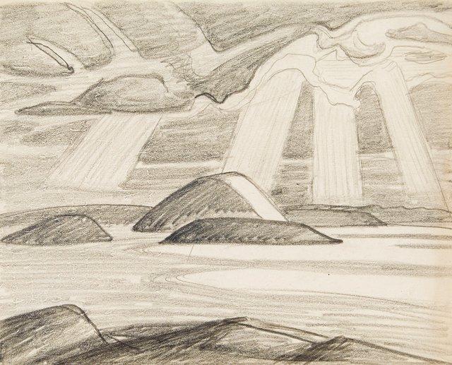 "Lawren Harris, ""Lake Superior (I.D. 463),"" 1925"