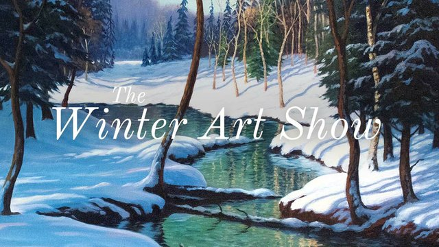 """Picture This Gallery, """"Winter Art Show,"""" 2017"""