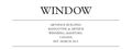 WINDOW: Artspace Building