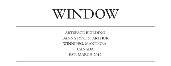 WINDOW: Artspace Building
