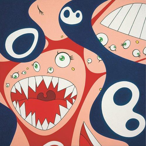 """Takashi Murakami, """"Klein's Pot A,"""" 1994–97"""