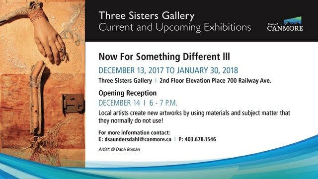 "Three Sisters Gallery, ""Now for Something Different III,"" 2017"