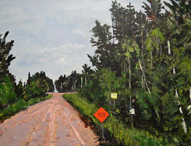 """Rebecca Perehudoff, """"Rough Road 17,"""" 2017"""