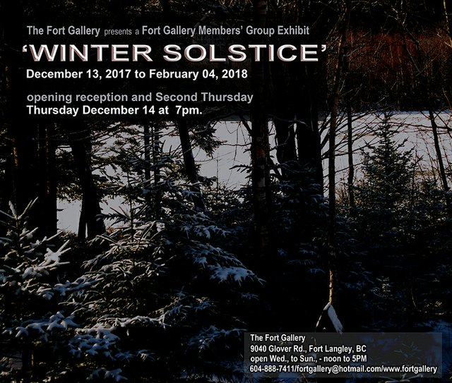 "Fort Gallery, ""Winter Solstice,"" 2017"