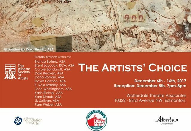 The Artists' Choice 2017, invitation