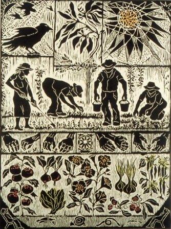 """D. Helen Mackie, """"Plot For A Garden,"""" 1999"""