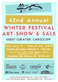 """Mann Art Gallery, """"42nd Annual Winter Festival Show and Sale,"""" 2017"""