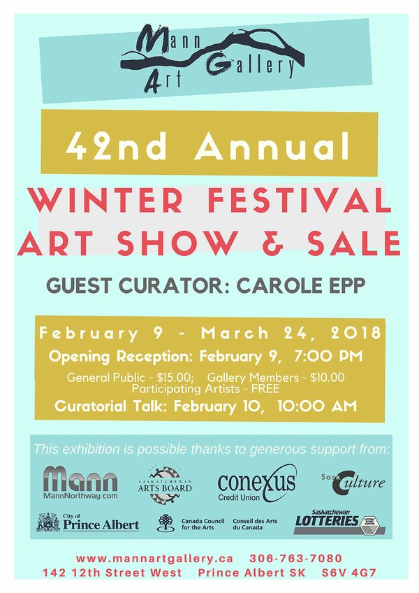 "Mann Art Gallery, ""42nd Annual Winter Festival Show and Sale,"" 2017"