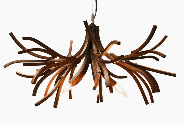 "Lars Dressler and Jason Dressler, Brothers Dressler, ""Branches Chandelier,"" 2009"