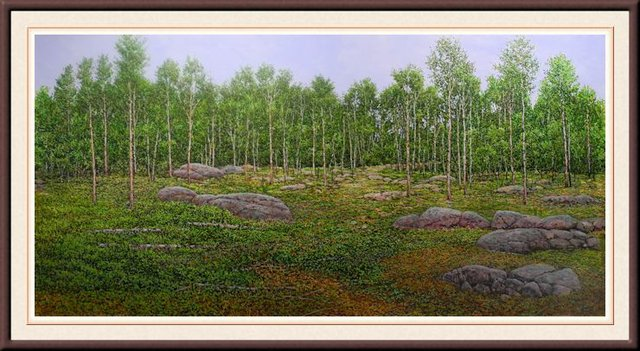 """Don McMaster, """"Boulders and Blueberries,"""" nd"""