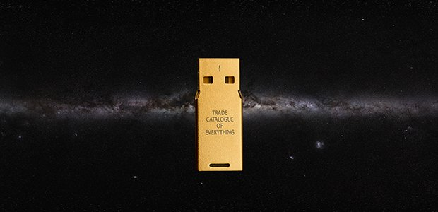 "Richard Ibghy & Marilou Lemmens, ""The Golden USB,"" 2014-ongoing"