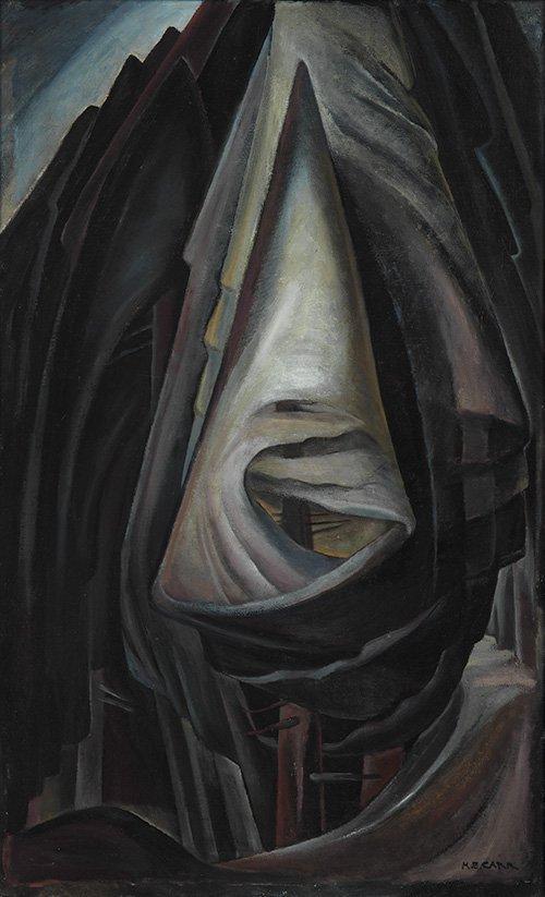 "Emily Carr, ""Grey,"" 1928–30"