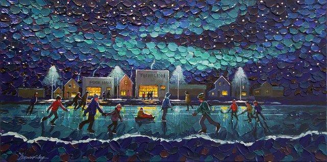 "Bill Brownridge, ""Midnight Lake,"" nd"