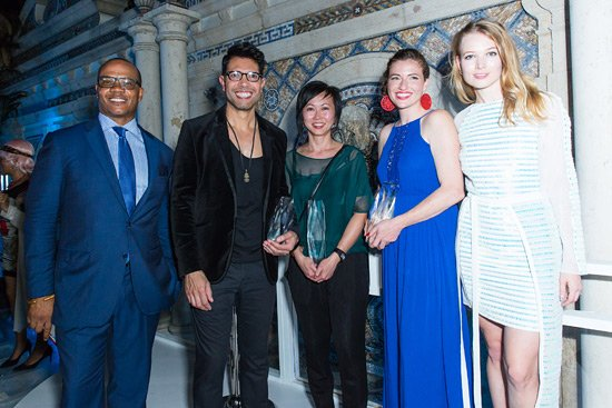 L-R: : Andre Guichard, Ariel Vargassal, Vanessa Lam, Charity White, Elena Soboleva Photo by Samantha Deitch/BFA.com