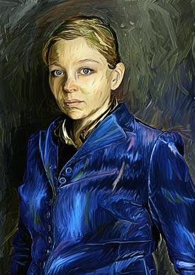 """In the style of Van Gogh"""