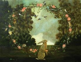 """Hare and Hummingbirds"""