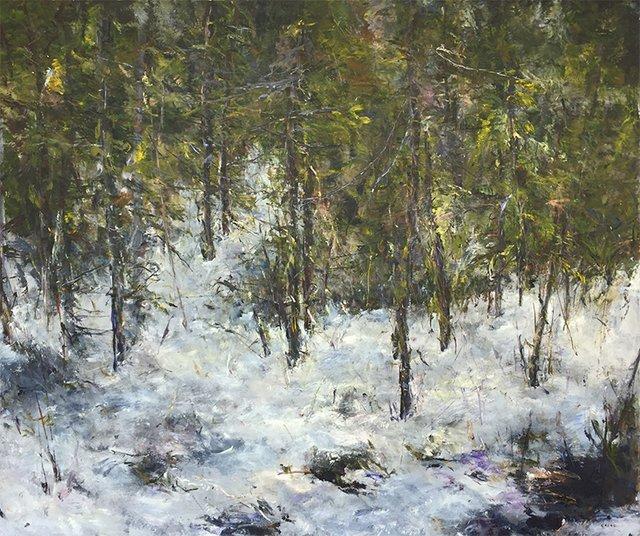 """Judy Cheng, """"Trail,""""  2017"""