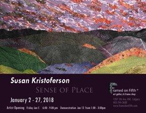 "Susan Kristoferson, ""Sense of Place,"" 2018"